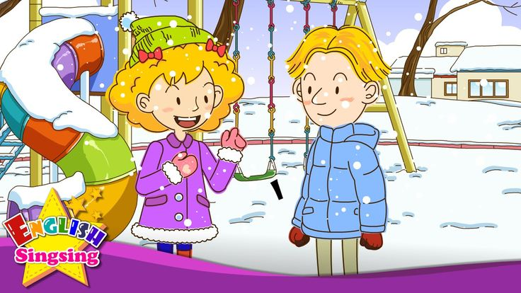 https://www.youtube.com/user/englishsingsing9 It's snowing. - Do you like snow? (Easy Dialogue) - English video for Kids - English Sing sing Here is Great Ed...