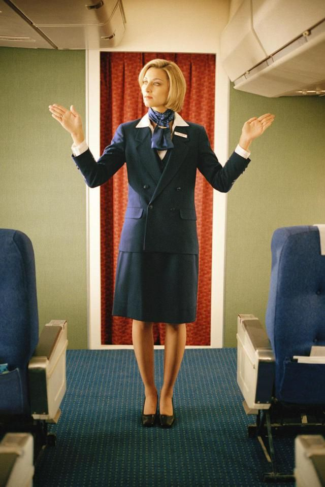 Review a list of frequently asked interview questions for flight attendants.