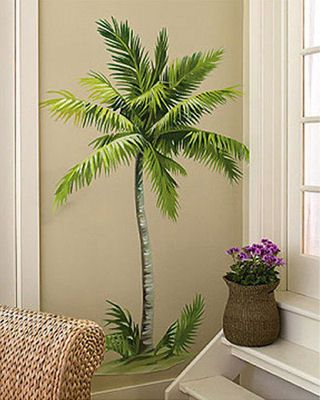 PALM TREE WALL ACCENT MURAL