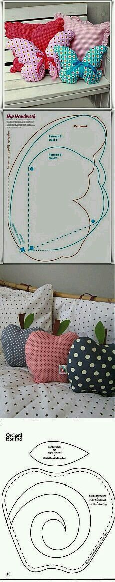 Butterfly tutorial: pattern to easily recreate.