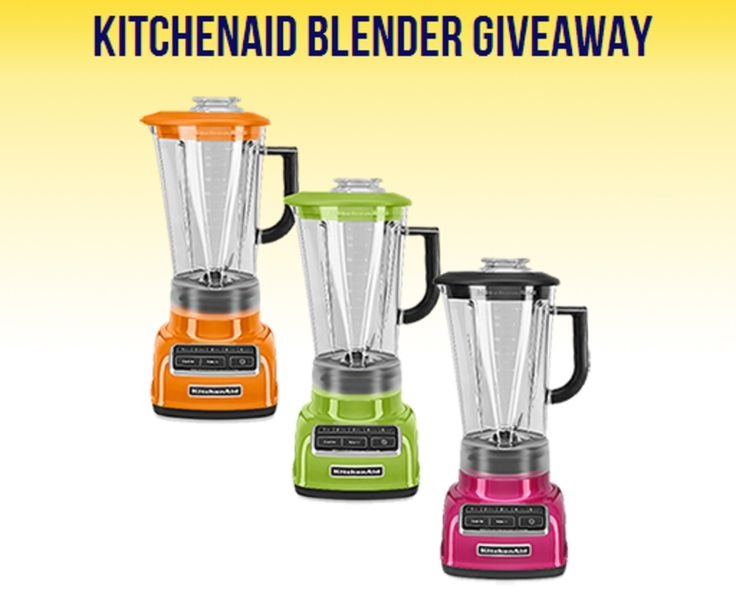 KitchenAid Blender Giveaway! http://reviewsbypink.com/kitchenaid-blender-giveaway/?utm_campaign=coschedule&utm_source=pinterest&utm_medium=More%20Than%20Just%20Reviews%20By%20Pink%20(Frugal%20and%20Money%20Saving%20Group%20Board)&utm_content=KitchenAid%20Blender%20Giveaway!