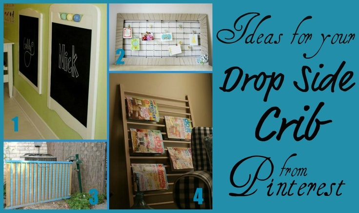 28 ideas for upcycling a drop-side cribGrandbaby Ideas, Drop Side, Danger Cribs, Crafts Ideas, Side Cribs, Cribs Ideas, Dropsid Cribs, Clever Ideas, Drop Sid Cribs