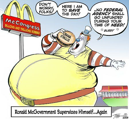 Satire Cartoons About Fast Food