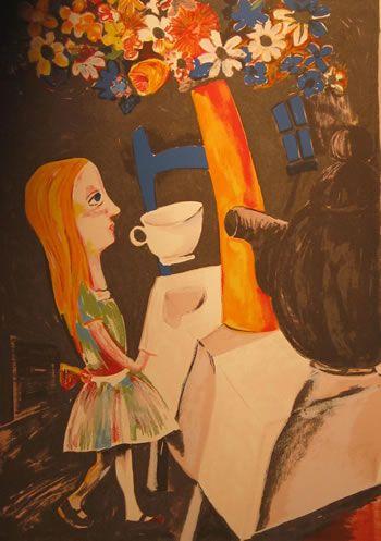 Alice in Wonderland, Charles Blackman