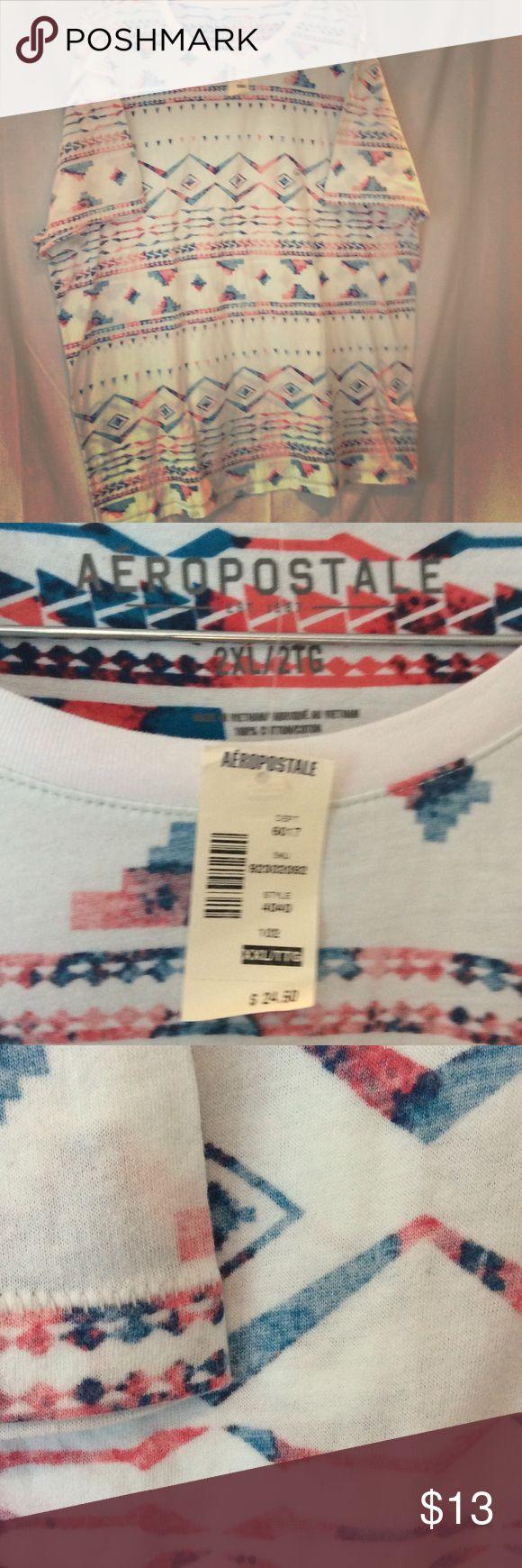 Aeropostale Aztec print NWT XXL Aztec print Aeropostale XXL tee.  NWT Aeropostale Tops Tees - Short Sleeve