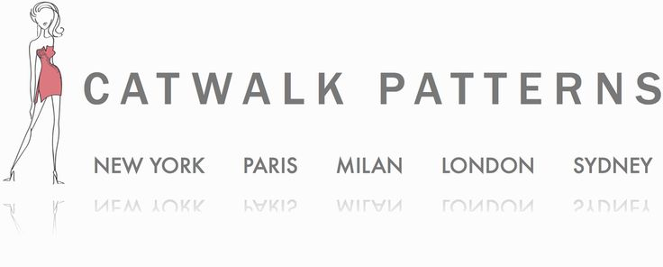 Catwalk Patterns new logo design :o)