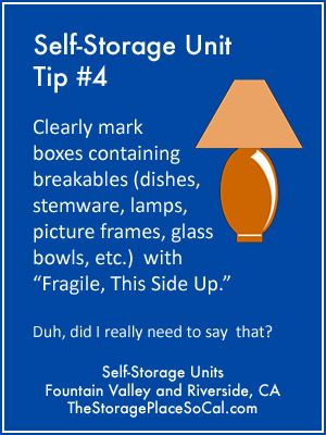 Self Storage Packing Tips And Tricks From The Storage Place