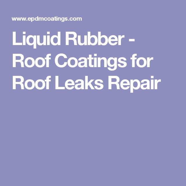 1000 Ideas About Rubber Roofing On Pinterest