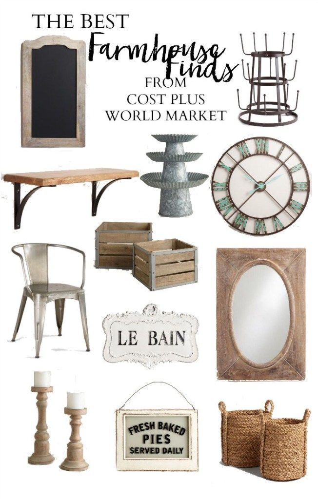 The Best Farmhouse Finds from Cost Plus World Market | #WorldMarketMA #ad | Farmhouse Decor | Farmhouse Finds || Lauren McBride