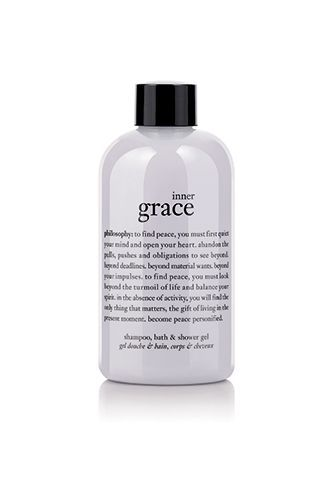 Beauty Products That Will Literally Knock You Out #refinery29  http://www.refinery29.com/2013/12/59580/beauty-products-sleep#slide-8  When inner grace is what you really need, this appropriately named bath/shampoo/shower-gel combo is right there to give you what you need. Philosophy Inner Grace Shampoo, Bath and Shower Gel, $24, available via Philosophy....