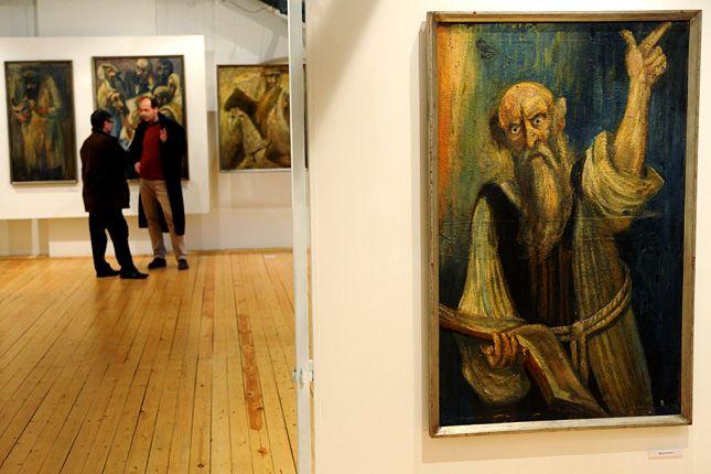 Hamisított Csontvárykból egy egész kiállítást rendeztek a közelmúltban