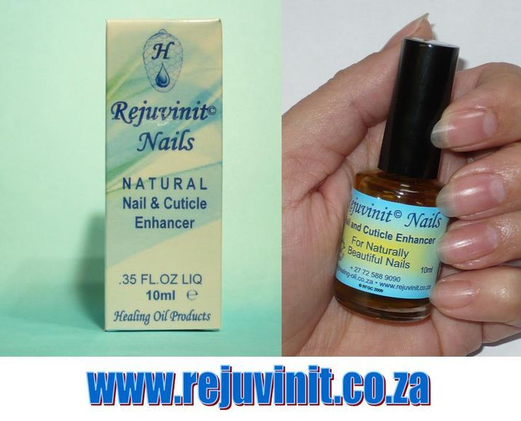 For naturally beautiful and strong nails, once a week application of Rejuvinit Natural Nail and Cuticle Enhancer is all that is needed. 10ml contains approximately 250 applications, making this nail oil extremely economical. Safe to Apply over Varnish, Acrylic and Gel nails. www.rejuvinit.co.za