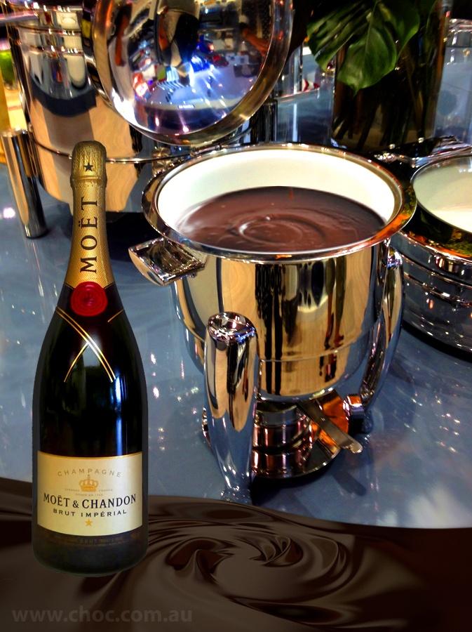 Champagne and Chocolate  Fardoulis Chocolates Chocolate Plato  www.choc.com.au