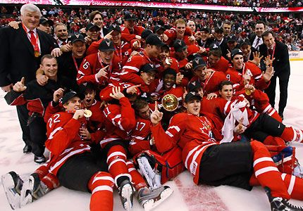 A Christmas tradition of gold in Canada-the World Junior Hockey competition!
