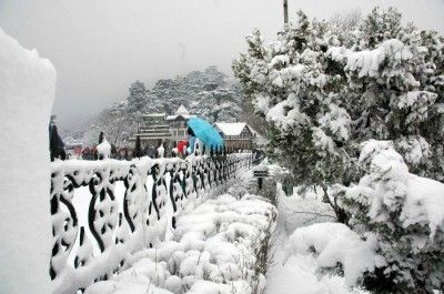 Pine clad valley of Dalhousie ideal for a summer-time honeymoon