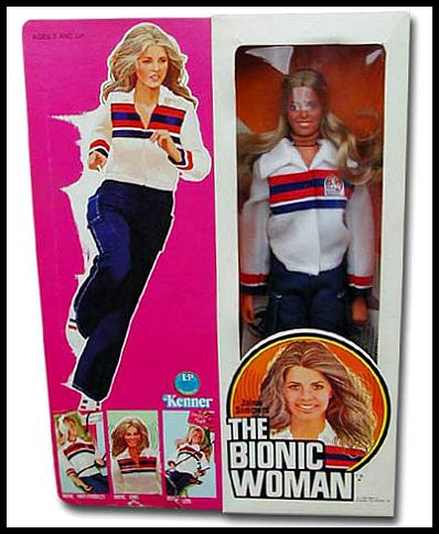 "Kenner's Six Million Dollar Man Series/ Jamie Summers ""The Bionic Woman"""
