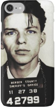 Mugshot Collection - Frank Sinatra iPhone 7 Cases
