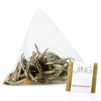 Jasmine Silver Needle Tea Bags. Our Jasmine Silver Needle in biodegradable tea bags. The finest Silver Needle white tea expertly scented with fresh Jasmine flowers for a delicate infusion.