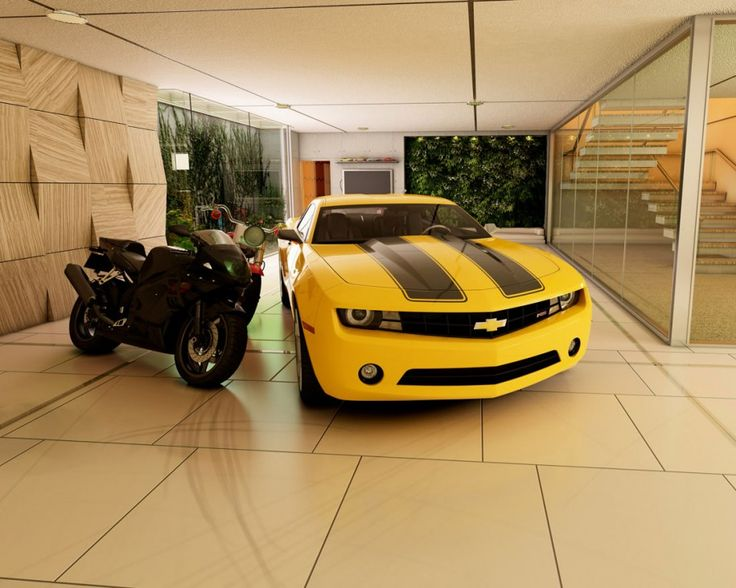 Best Garage Interior Design Ideas with Elegant Touch : Awesome ...