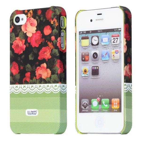 Red roses design hoesje voor de iPhone 4 / 4s