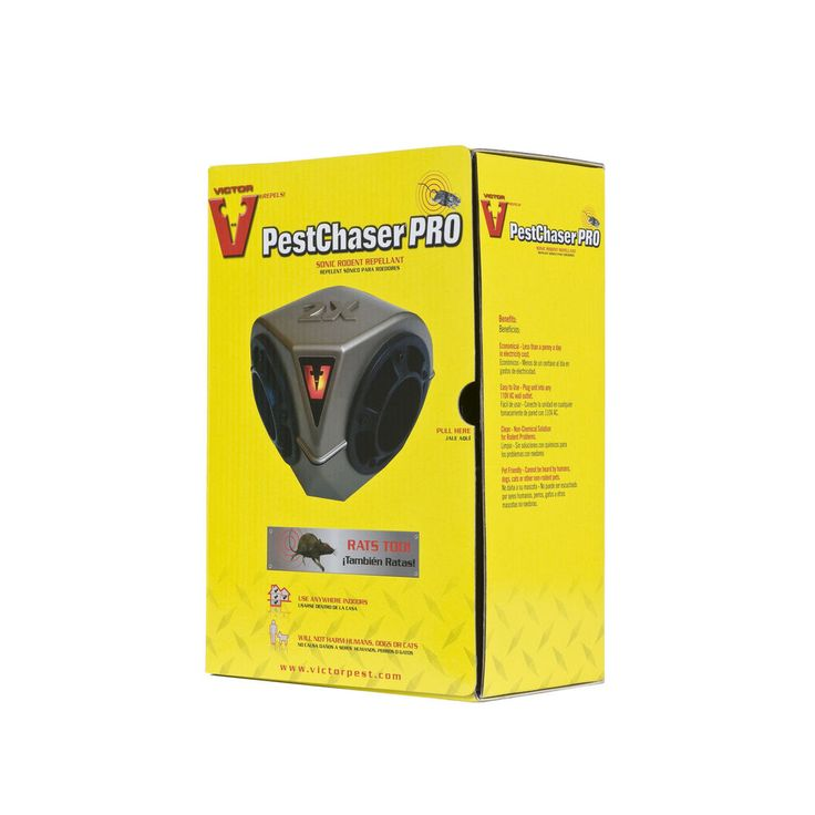 Victor Ultrasonic Mouse Rat Repeller Heavy Duty Rodent PestChaser Pest Control #Victor