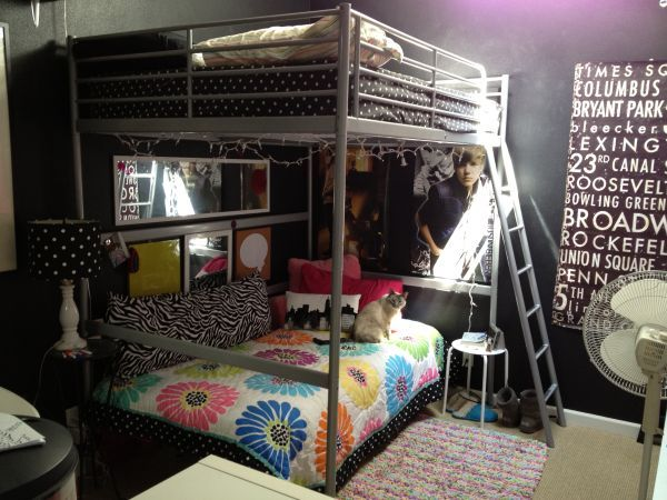 Ikea Tromso Loft Bed Turn A Twin Underneath Into A