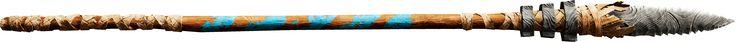 LANÇA NÍVEL 3 Sua lança confiável é uma boa arma defensiva ou um projétil devastador de longa distância. Sempre ande com uma.