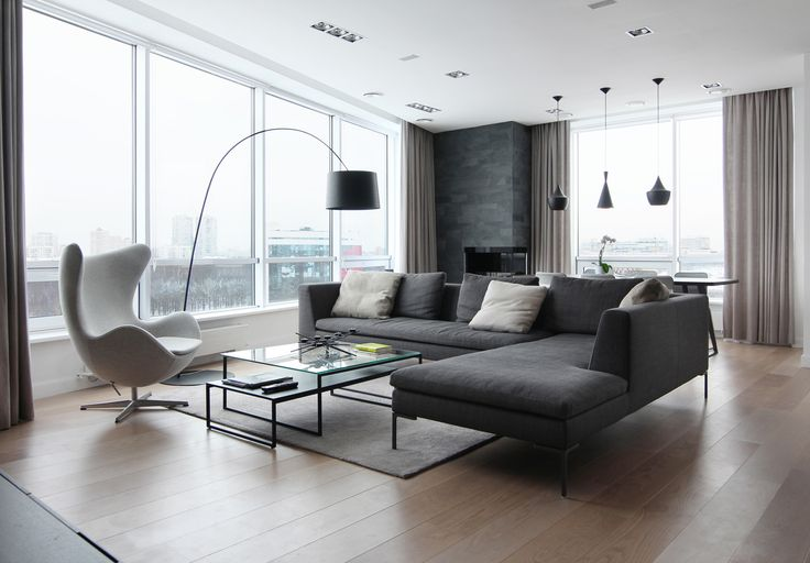 Apartment in Moscow, 134 m2