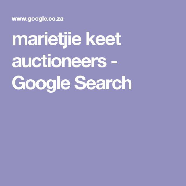 marietjie keet auctioneers - Google Search