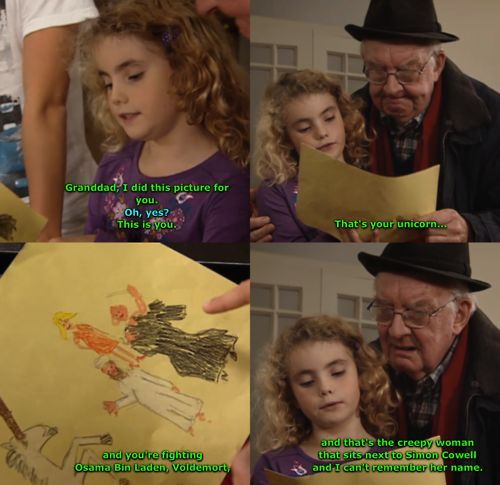 Friendly reminder the child actors on this show had no script