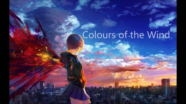 Nightcore - Colours of the Wind (David Verity Cover)