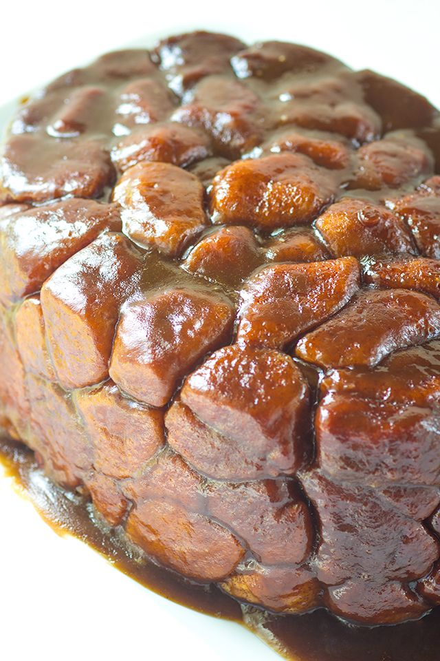 Crock Pot Monkey Bread - Want to get more use out of that crock pot? I have the perfect monkey bread to throw in it. My favorite part is the caramel top that coats the monkey bread!