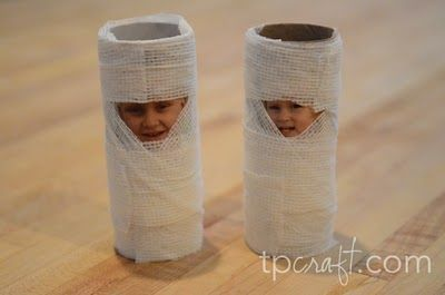 "An entire website for TP roll crafts. I can see a ""so you'll always know mummy loves you"" idea here..."
