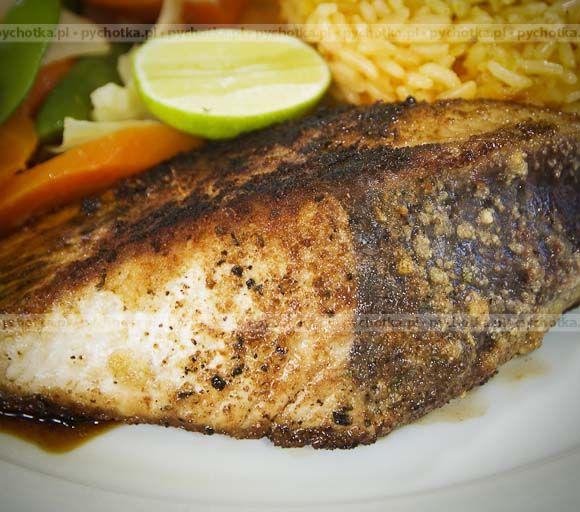 Ryba pieczona z limonką