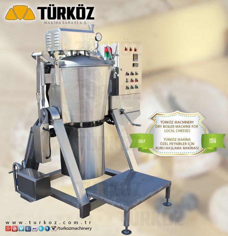 Türköz Machinery Dry Boiler Machine for local cheeses / Türköz Makina Özel Peynirler için Kuru Haşlama Makinası #local #cheese #cheeses #dry #boiler #machine #milk #dairy #reception #production #mandıra #mandira #plant #türköz #machinery #kashkavall #kashkaval #balkan #cheese #gauda #gravyere www.turkoz.com.tr
