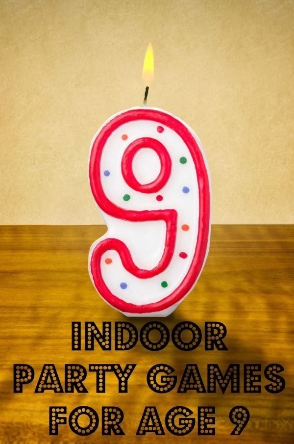 Indoor Party Games For Age 9