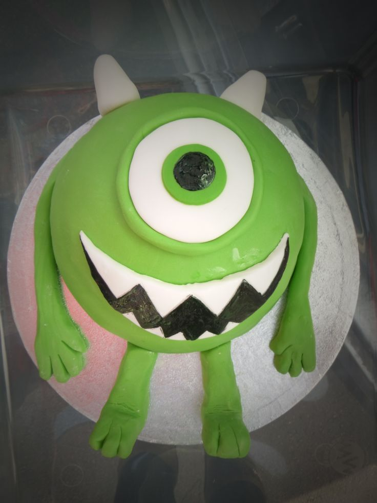 Monsters Inc hemisphere cake