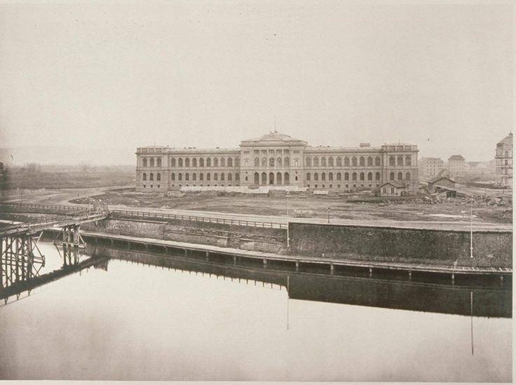 PALAIS UNIVERSITAIRE STRASBOURG CONSTRUCTION ENTRE 1879 ET 1884