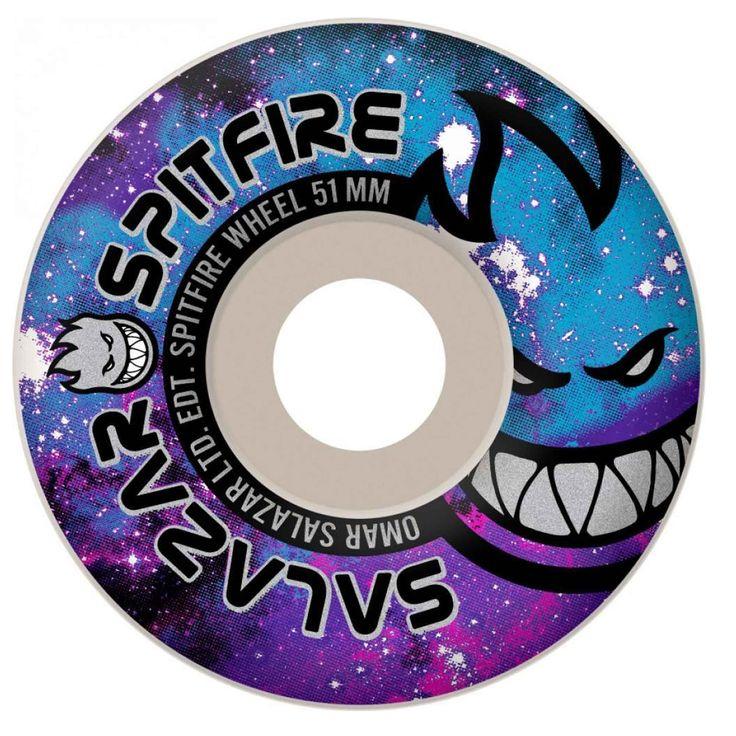 Spitfire - Omar Salazar Space Burn Wheels only $30.99 at BamSkateShop