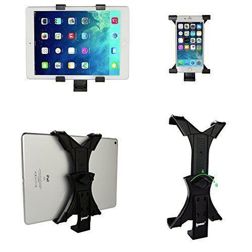 Universal Adjustable Tablet iPad Mount Adapter for Tripod Monopod Selfie Stick #IPOW