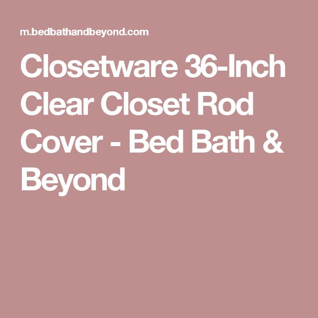 Best 25 Closet Rod Ideas On Pinterest Closet Remodel