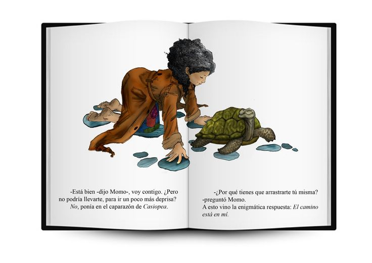 Casiopea : El camino está en mi  (Michael Ende,Momo, o la extraña historia de los ladrones de tiempo y de la niña que devolvió el tiempo a los hombres)