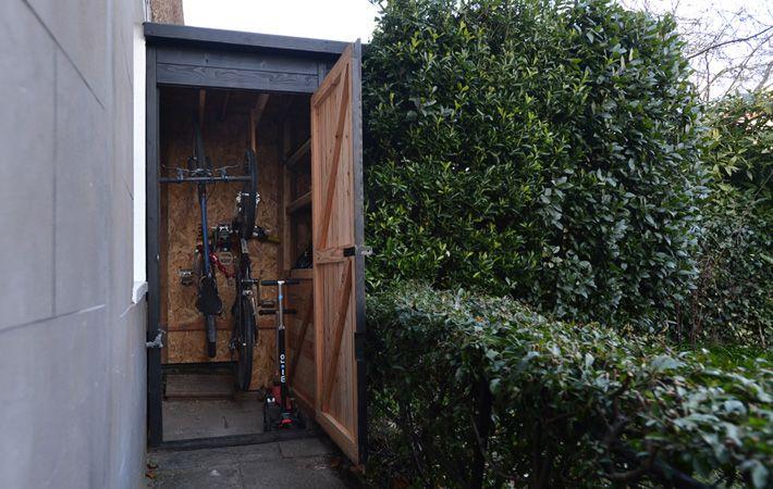 Vertical Bikes the bike shed company
