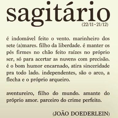 """""""O arco, a flecha e o próprio arqueiro!"""" #sagitariana"""