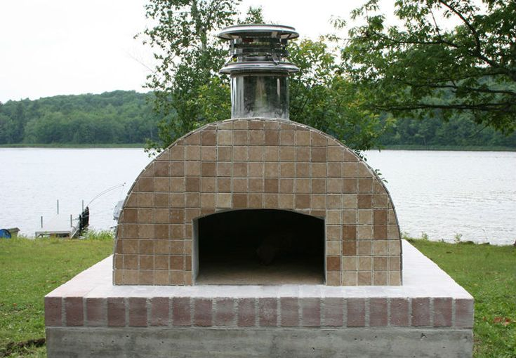 Building the Cortile Barile by BrickWood Ovens