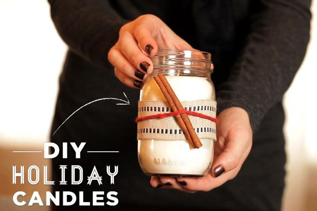 Looking for a thoughtful holiday gift idea that won't break the bank? These scented soy wax candles are a creative gift for friends, teachers, party hostesses and family members.
