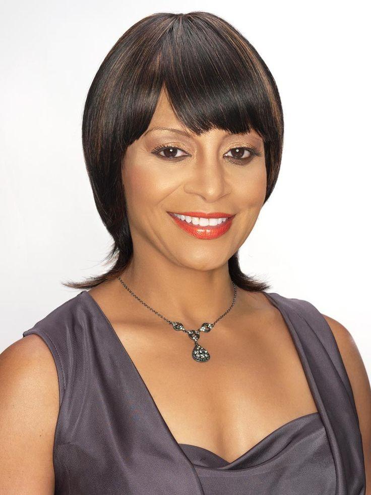 Alicia Beauty Alma Human Hair Wig, 1B Off Black Beauty