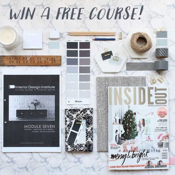 Who Wants To Become An IDIstudent And Win A FREE Interior Design Course At IDI