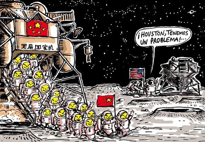 Conquête spatiale. La Chine accélère comme une fusée courrierinternational.com