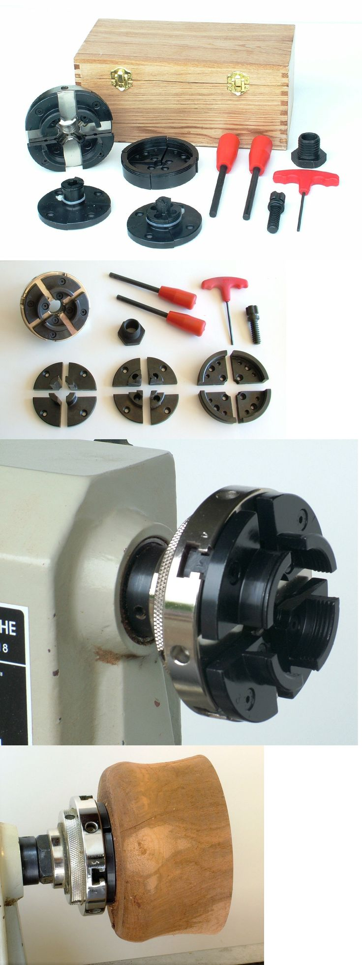 Lathes and Accessories 42282: Lathepro Wp0201 4-Jaw Self-Centering Wood Lathe Chuck System -> BUY IT NOW ONLY: $149.99 on eBay!
